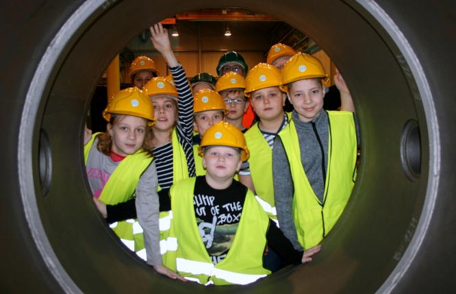 Children from Ludgeřovice took part in an excursion at ARMATURY Group