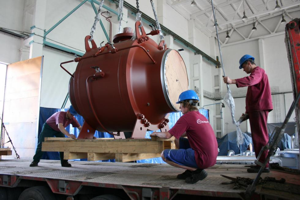 The production of large ball valves is launched