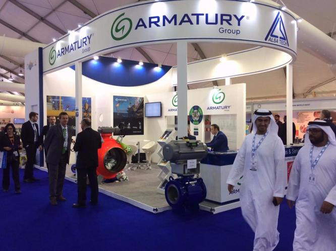 АRMATURY Group at the ADIPEC Exhibition