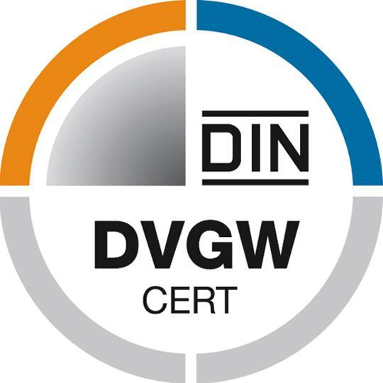 ARMATURY Group has obtained a certificate according to EN 14141 following the German DVGW regulation